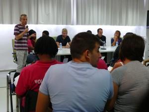 15 d'Octubre de 2011. TROBADA DE PARTICIPACIÓ DE PERSONES EN SITUACIÓ DE VULNERABILITAT
