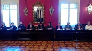 01.12.15 Els representants del Parlamanet firmen el Pacte per a la Inclusió Social