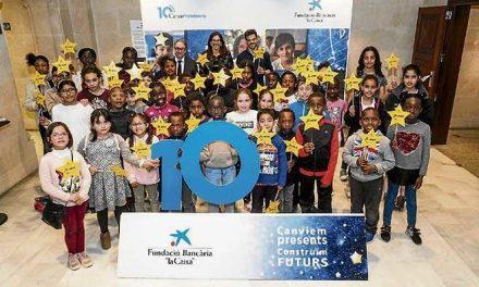 10 anys de CaixaProinfància a Balears