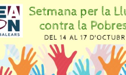 ACTIVITATS PER LA SETMANA PER LA LLUITA CONTRA LA POBRESA, DEL 14 AL 17 D'OCTUBRE