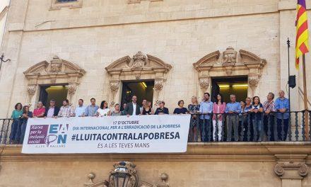 ÈXIT DE PARTICIPACIÓ EN LA SETMANA PER LA LLUITA CONTRA LA POBRESA I L'EXCLUSIÓ SOCIAL