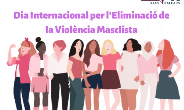#25N, DIA INTERNACIONAL PER L'ELIMINACIÓ DE LA VIOLÈNCIA CONTRA LES DONES