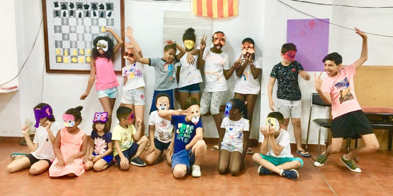 L'ESCOLA D'ESTIU DE CARITAS MALLORCA A SON DAMETO, UNA ALTERNATIVA PER FAMÍLIES AMB FALTA DE RECURSOS